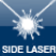 Side laser