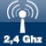 Transmission frequency 2,4Ghz